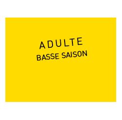 Acheter vos billets adulte basse saison à prix réduit - parc des Naudières